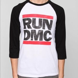 "Unisex ""vintage"" Run DMC baseball shirt"